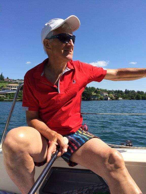 Fritz auf Segelschiff